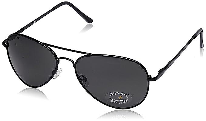 Fastrack Aviator Unisex Sunglasses - (M069BK3 37138b604b40