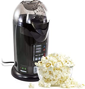 Se7en20 Star Wars Darth Vader Hot Air Popcorn Popper (Black)