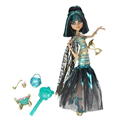Monster High Ghouls Rule Cleo De Nile Doll: Toys & Games