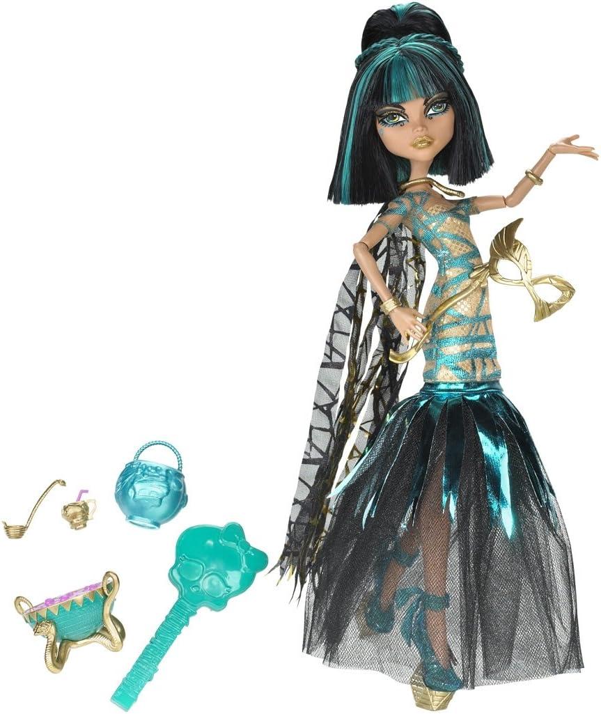 Monster High - Muñeca, Cleo una Fiesta Divina De La Muerte (Mattel BCH88): Amazon.es: Juguetes y juegos