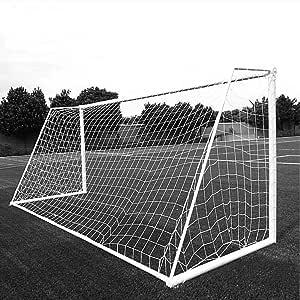 Aoneky Red de Porteria de Futbol Mini/Grandes Profesional Tamaño Completo, Red Reemplazo Plegable de Soccer Entrenamiento para Niños Adultos - Sin Marco