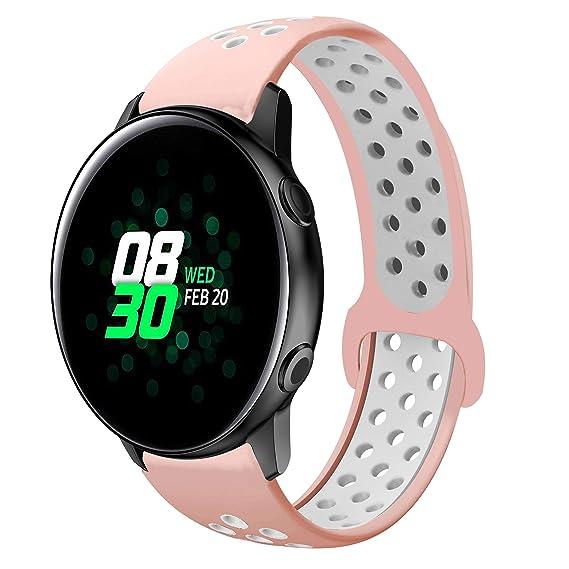 Amazon.com: 22mm Bnad Compatible Galaxy Watch 46mm Bands ...
