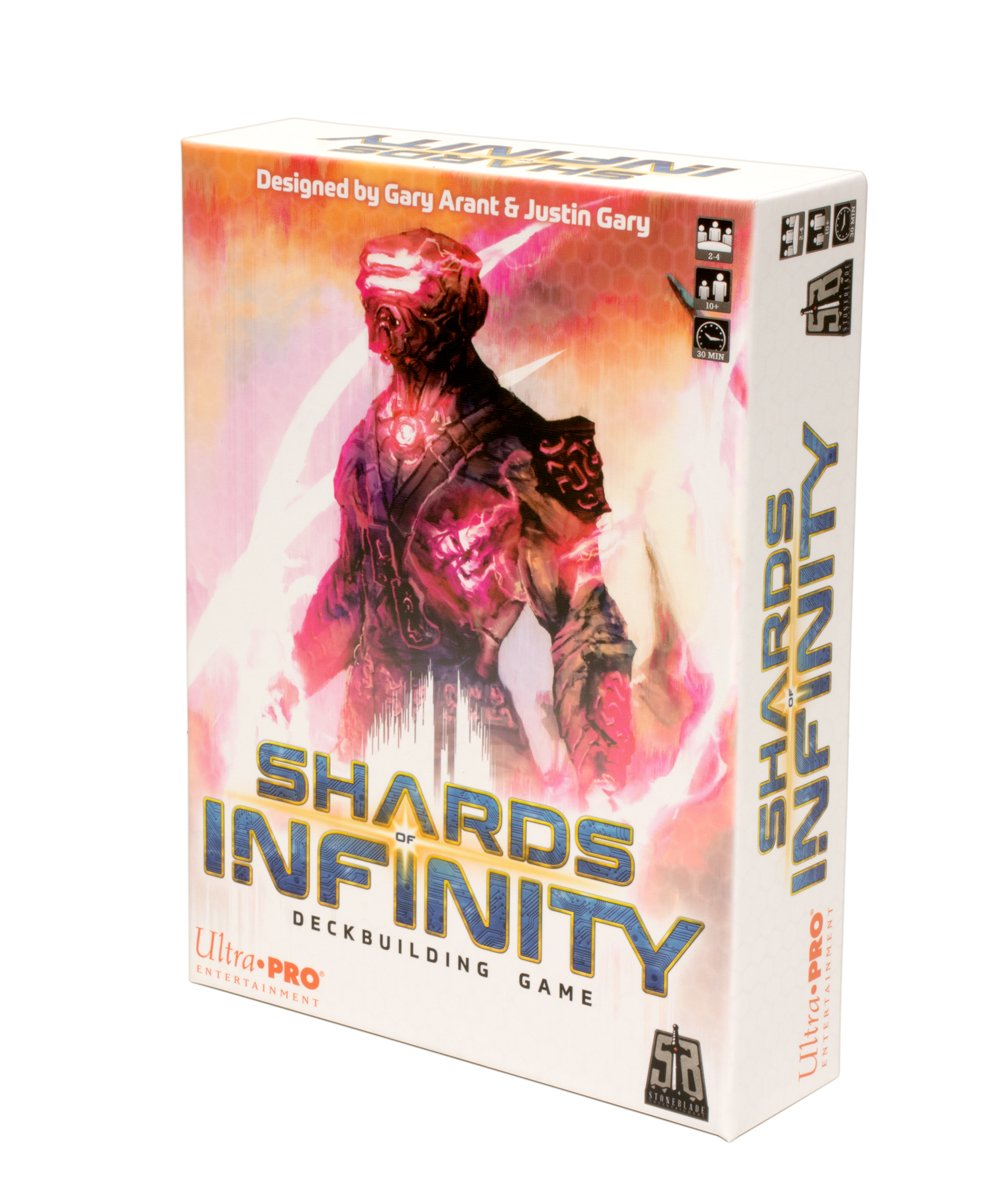 Ultra Pro UPE10133 Shards of Infinity: Deckbuilding Game, Multi-Colour Pegasus Spiele