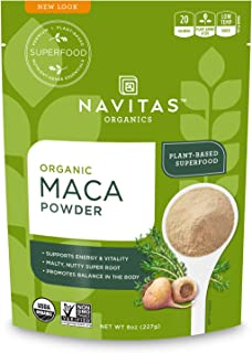 product image for Navitas Organics Maca Powder, 8 oz. Bag, 45 Servings — Organic, Non-GMO, Low Temp-DriedGluten-Free