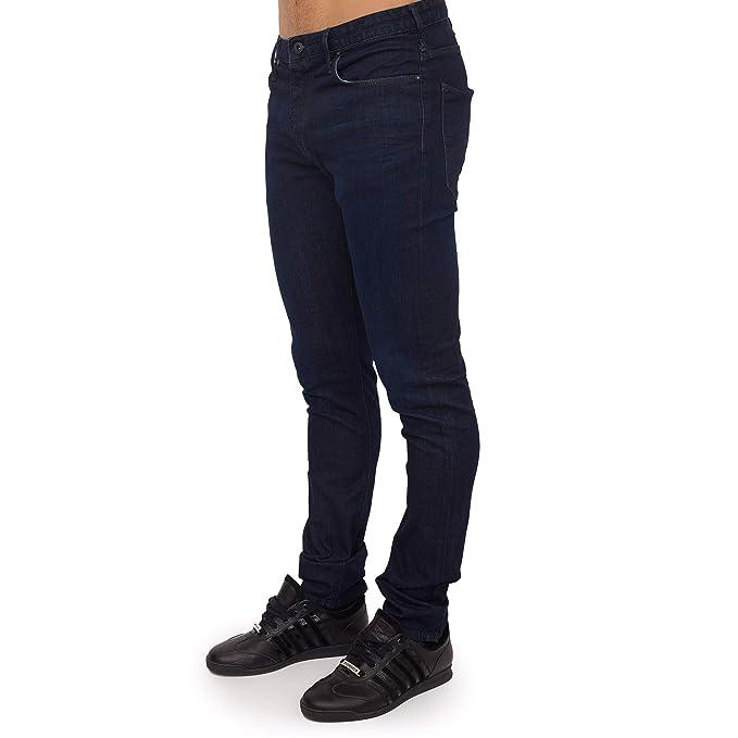 Emporio Armani J06 - Pantalones Vaqueros cómodos para Hombre ...