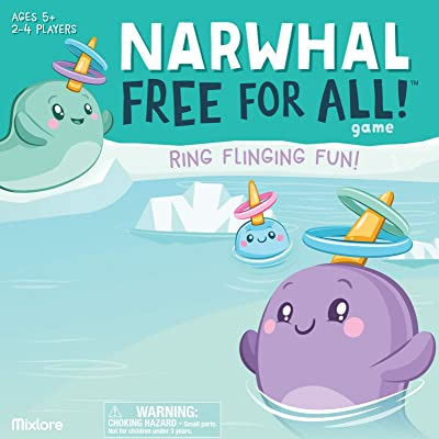 Narwhal Free for All Game: Toys & Games