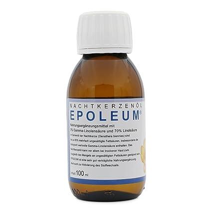 Aceite de onagra con ácido gamma-linolénico (ácidos grasos omega-6 saludables)