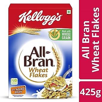 kellogg s all bran wheat flakes 425 gms amazon in grocery