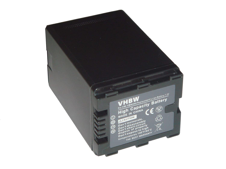 BATER/ÍA LI-ION XXL compatible con PANASONIC HDC-SD800 HDC-SD900 HDC-SD909 HDC-TM900 HDC-HS900 sustituye VW-VBN390 VW-VBN390E VW-VBN260 con infochip