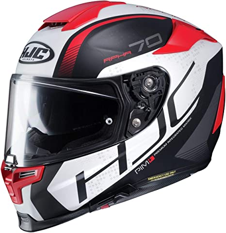 Amazon.com: HJC Helmets Casco integral Rpha RPHA 70 ST Iron ...