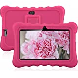 "7"" Kids Tablet PC, Ainol Q88 Android 4.4 External 3G 8GB ROM 512MB RAM Tablet with Dual Camera WIFI USB Phablet (Pink)"