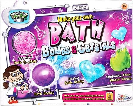 Weird Science WD440093-16 Super Fun Make Bomb and Bath Crystal - Juego de Juguetes: Amazon.es: Juguetes y juegos