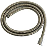 Weirun Kitchen 59-Inch or 150CM Pull Down Sink Faucet Replacement Pull Out Spray Head Hose Stainless Steel , Brushed Nickel