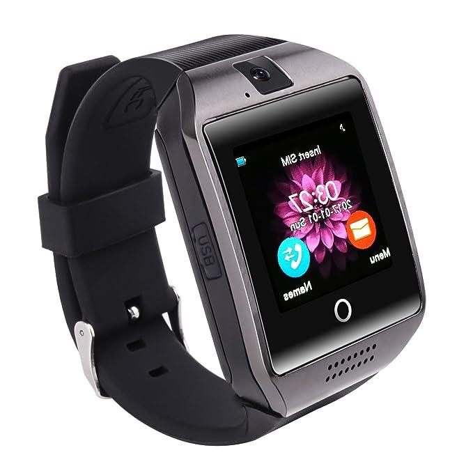 Reloj inteligente Bluetooth, SAINKO Smartwatch Smart reloj ...