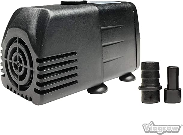 Water Pump Aquariums Ponds Fountains Hydropnic System Economical Small Quiet New