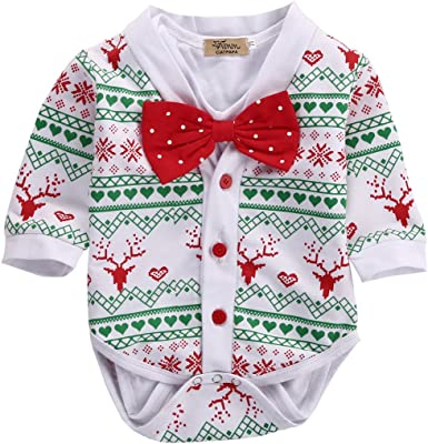 Rainbow Antique Keys Baby Boy Girl Long Sleeve Playsuit Outfit Clothes
