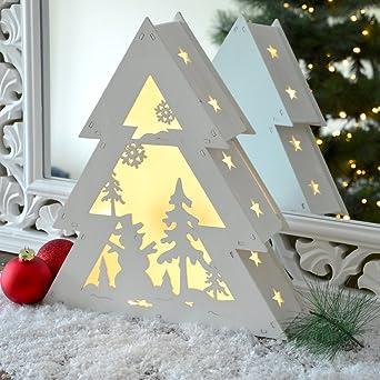 Led Weihnachtsbeleuchtung Baum.Led Weihnachtsbeleuchtung Innen Weihnachts Baum Warmweiß Fenster