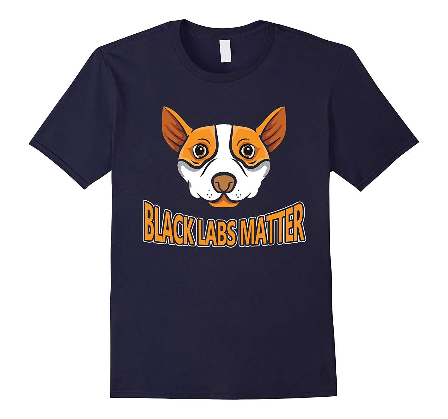 Black Labs Matter T Shirt-CD