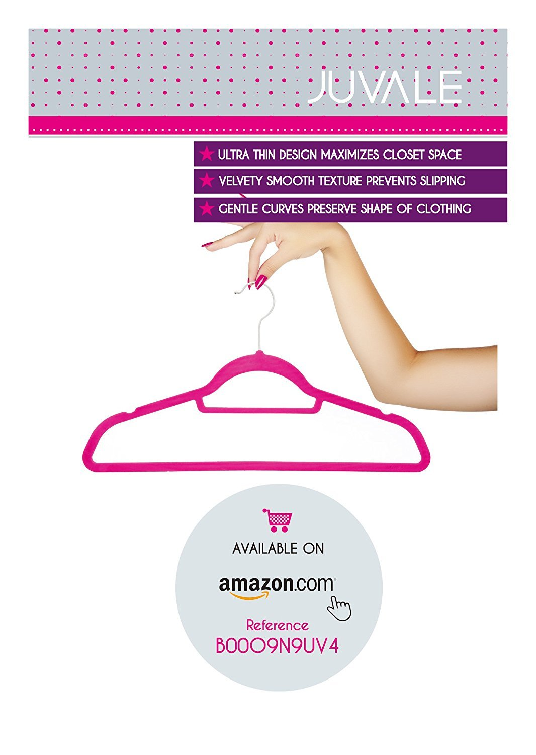 Dress Clothes Pants Ultra Thin Velvet Non Slip Clothes Hangers with Accessory Bar 18 Inches 50 Pack Sweaters Beige Closet Space Saving Design for Shirts With Bonus Pink Velvet Hanger