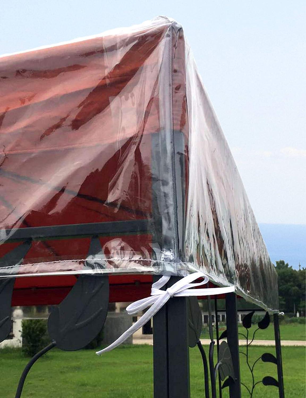 QUICK STAR Pavillon Schutzhaube 2x2m Wasserdicht Transparent