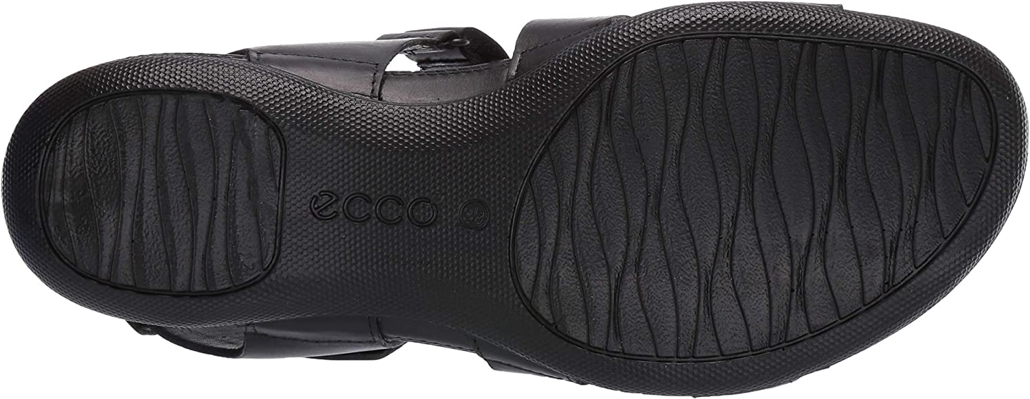 ECCO Damen Flash Sneaker Schwarz Black 2001