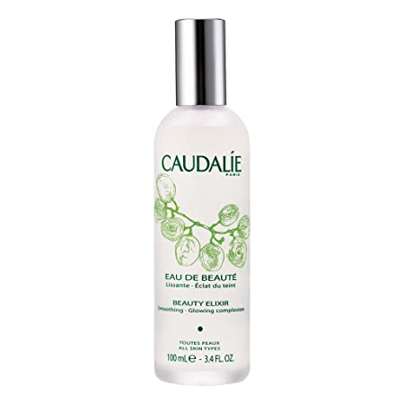 Caudal e Paris Beauty Elixir Eau de Beaute Spray. Refreshing and Lightweight Face T1r to Tighten Pores, Set Makeup, and Improve Oily Skin and Complexion, 3.4 Fl. Oz
