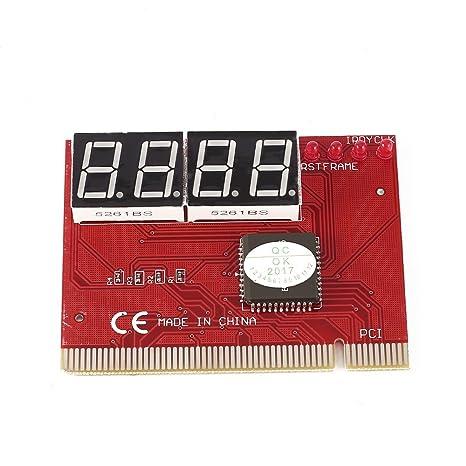 Placa Base del Ordenador Portátil Mini PCI PCI-E LPC Post Tarjeta de diagnóstico y