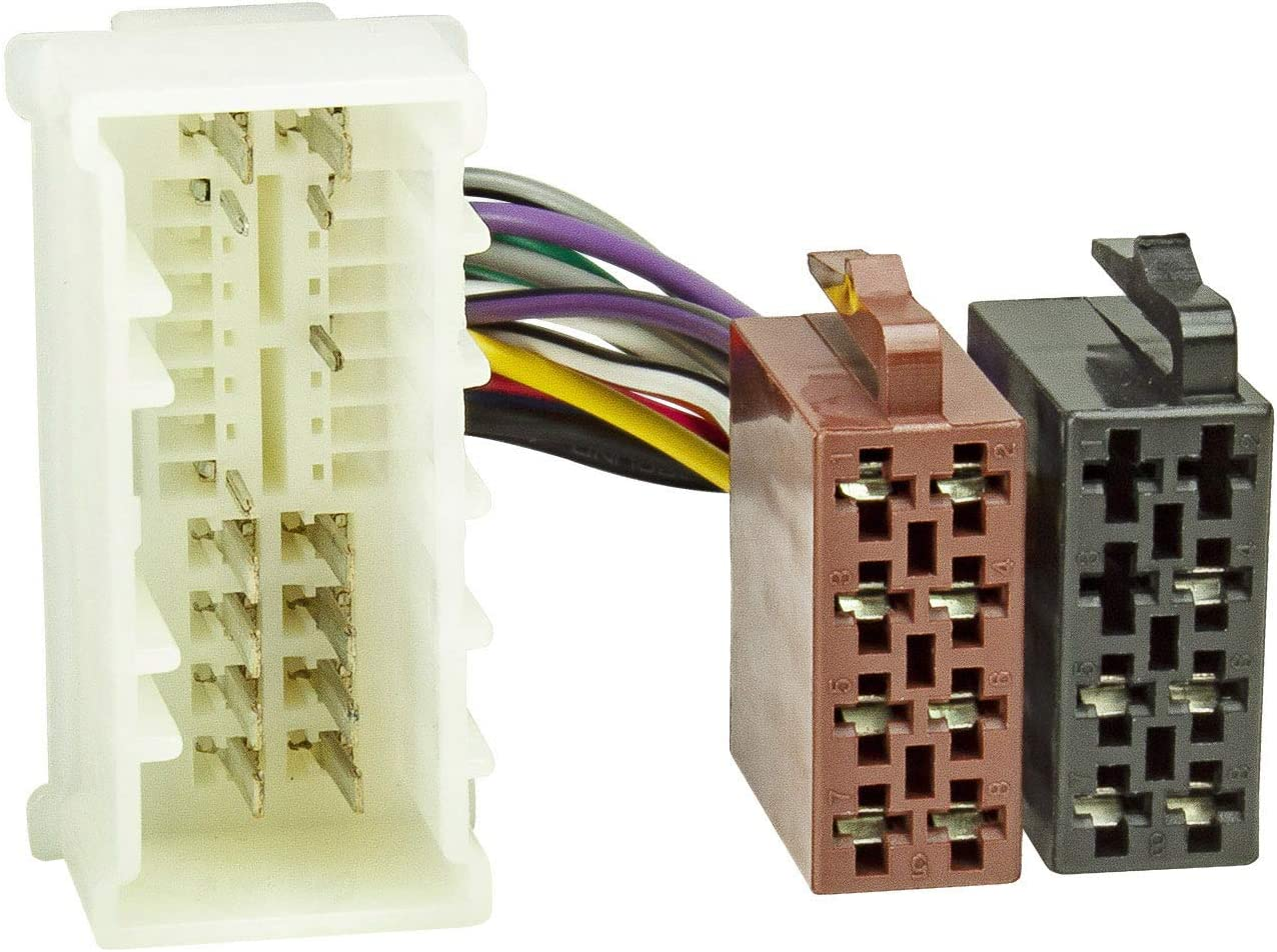 tomzz Audio 7019-002 - Cable adaptador de radio para Kia a partir de 2005, Hyundai a partir de 2005 a 16 pines norma ISO