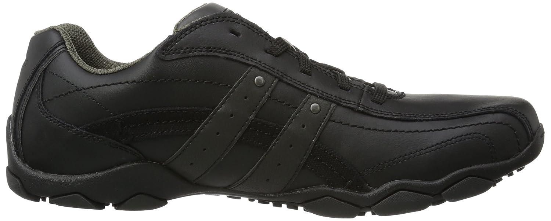 7b50203fe1f4d Skechers USA Men's Diameter Blake Oxford Black: Amazon.co.uk: Shoes & Bags
