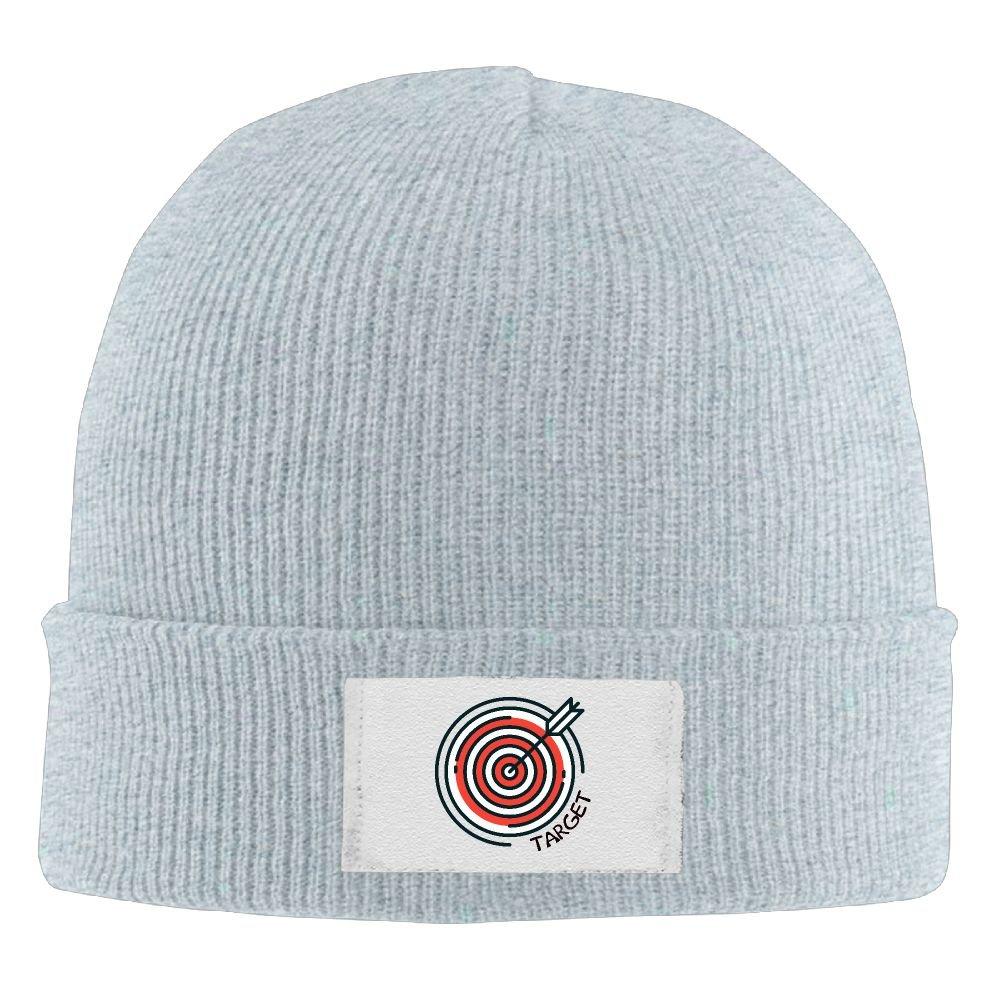 Amazon.com  J4g5 Caps Archery Target Men Women Slouchy Beanie Hat Warm Knit  Caps  Clothing 70d8cd1fffe