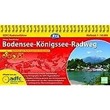 ADFC-Radreiseführer Bodensee-Königssee-Radweg 1:50.000 praktische Spiralbindung, reiß- und wetterfest, GPS-Tracks Download: Auf 418 km quer durchs bayerische Voralpenland