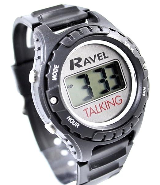 Reloj esRelojes Ravel Pvc Talking CorreaAmazon ON8nmwP0yv