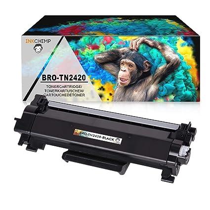 inkc himp cartucho | con chip | compatible con Brother TN de 2420 ...