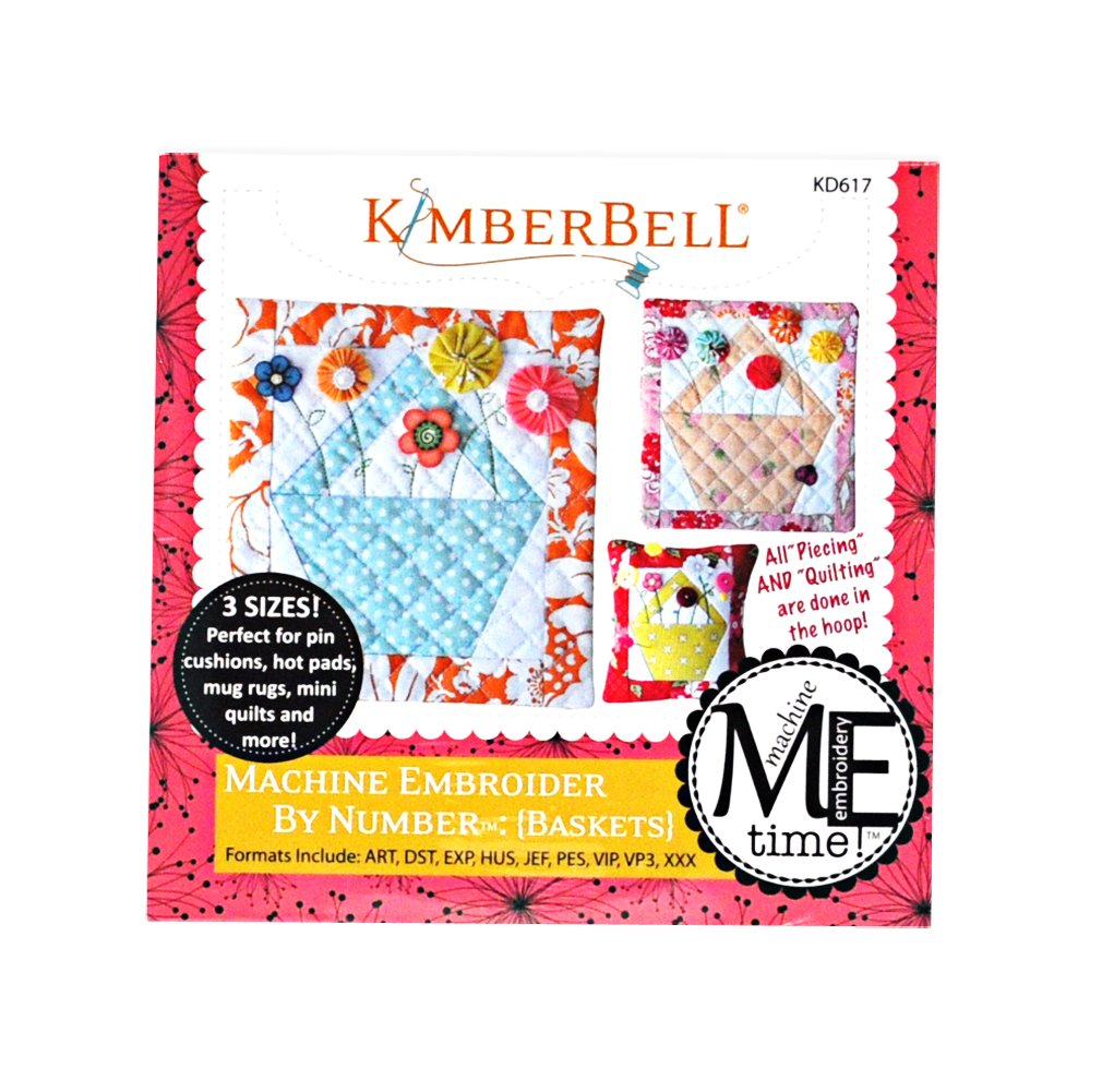 Kimberbell Machine Embroider by Number: Baskets Embroidery Design CD KD617 by Kimberbell   B01AVXKVF4