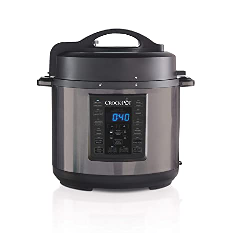 Amazon.com: Crock-Pot - Cocina de 6 litros multiusos Express ...