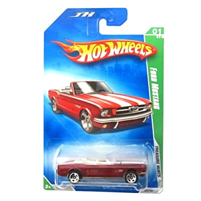Hot Wheels 2009 Ford Mustang Treasure Hunt #1 of 12 MOC: Toys & Games