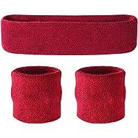 Suddora Headband and Wristband Set - Sports Sweatbands For Head And Wrist