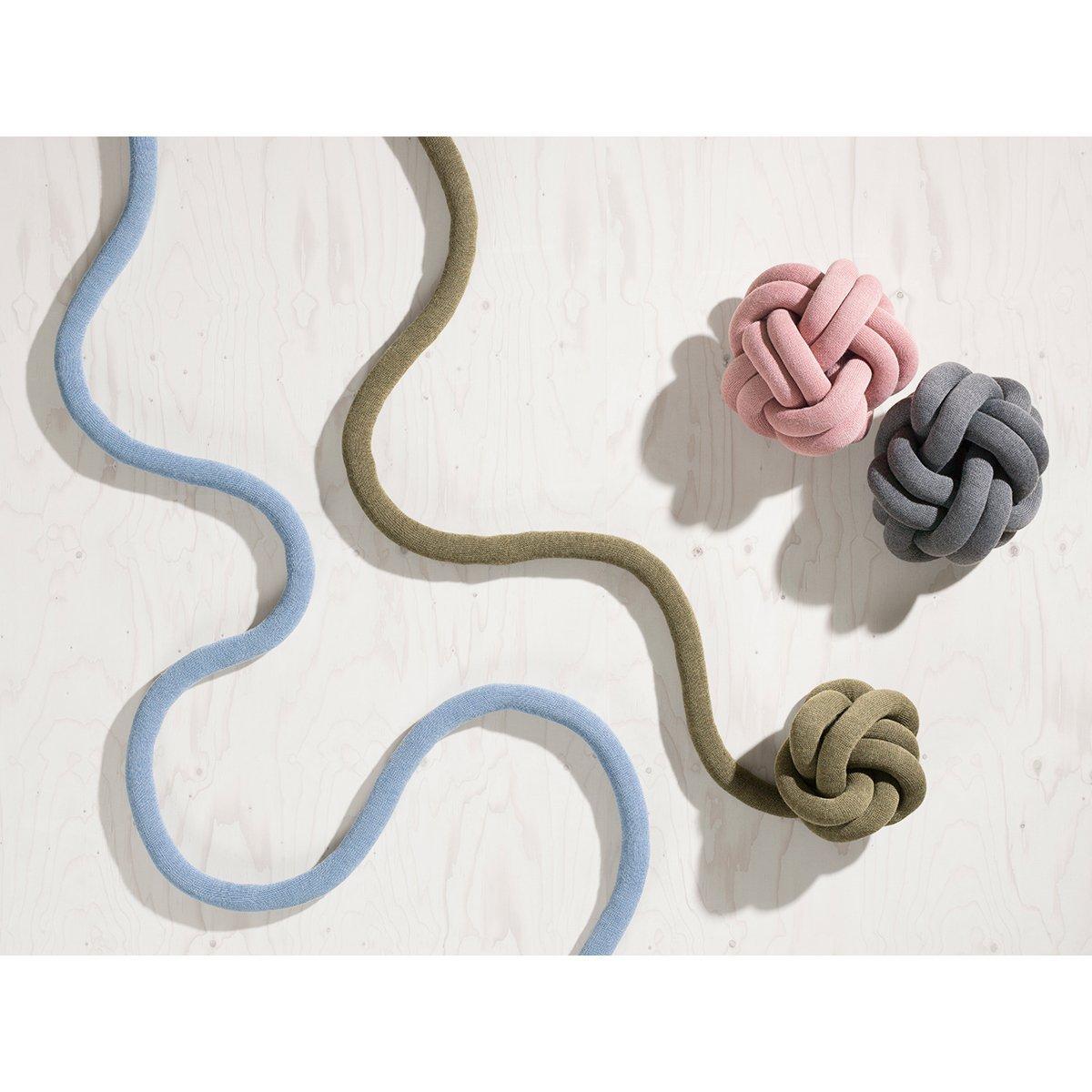 pink Knot Kissen Design House Stockholm