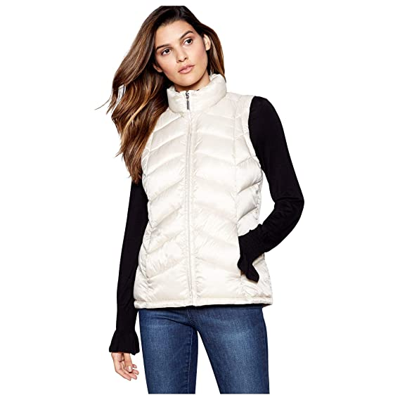 2894326cce2f6 Principles Womens Off White Super Light Puffer Gilet  Principles   Amazon.co.uk  Clothing