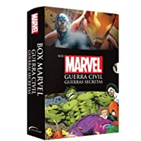 Box Marvel Guerra Civil: Guerras Secretas