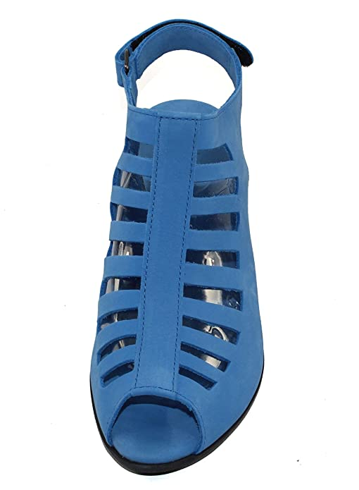 d8801a9d78 Amazon.com | Arche Women's Enexor in Bora Nubuck - Light Denim Blue - Size  40 M | Sandals