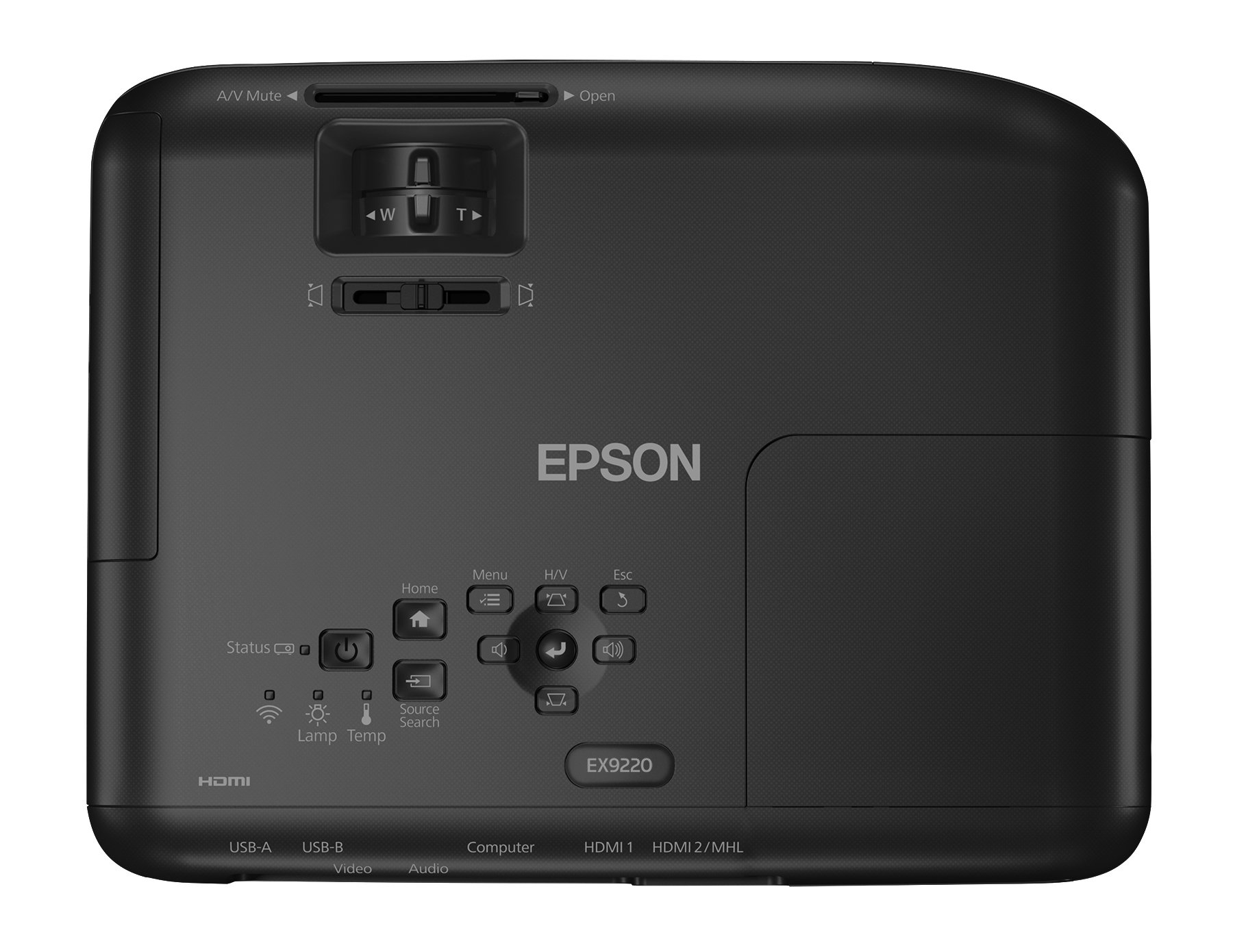 Epson Pro EX9220 1080p+ WUXGA 3,600 lumens color brightness (color light output) 3,600 lumens white brightness (white light output) wireless Miracast HDMI MHL 3LCD projector by Epson (Image #5)