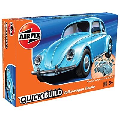 Airfix Quickbuild Volkswagen Beetle Plastic Model Kit: Toys & Games