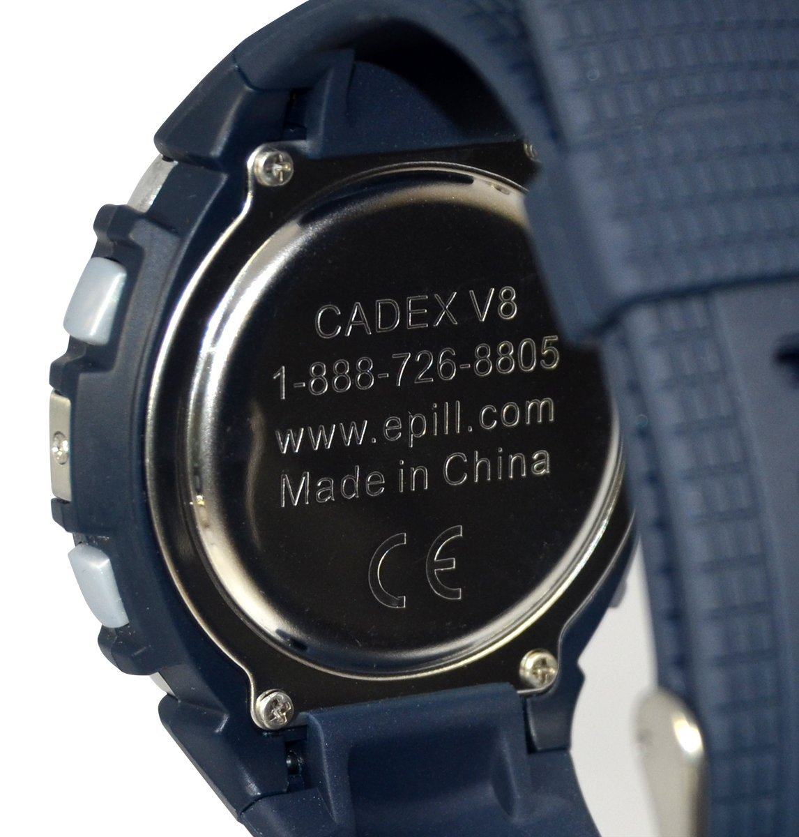 8 Alarm Vibration Alarm Watch e-pill CADEX V8. Vibrating Reminder Watch with Vibration, Beep, or BOTH Alarms. Long Alarm Duration. by e-pill Medication Reminders (Image #5)