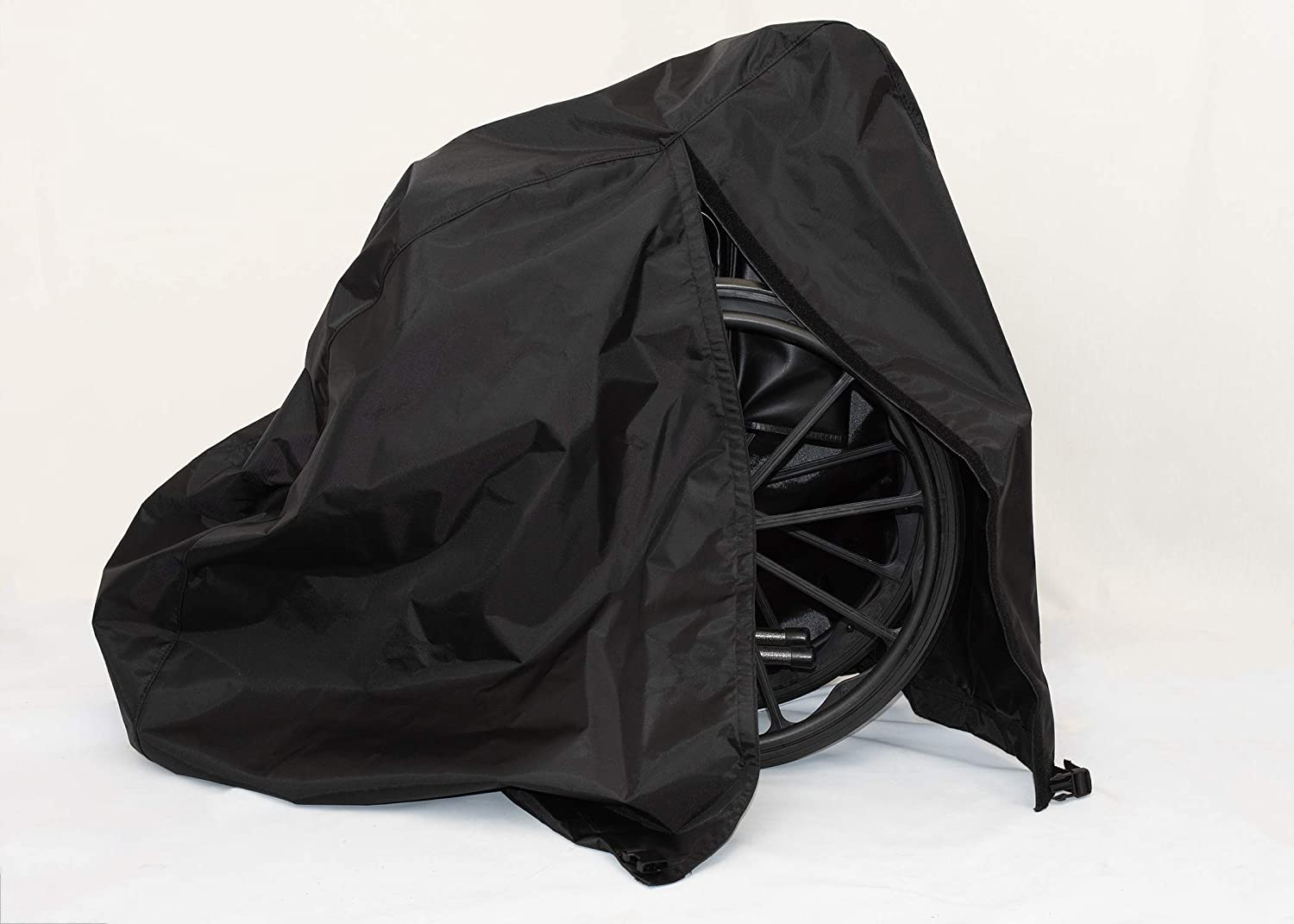 Diestco Manual Wheelchair Cover Accessory Durable Black Lightweight Nylon 71H4Mvt0-pL