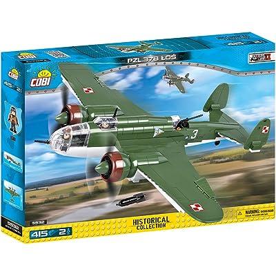 COBI Historical Collection PZL.37B Łoś Plane: Toys & Games
