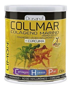 Drasanvi Collmar Colageno Magnesio + Acido Hialuronico + Curcuma 300 gr Limon: Amazon.es: Salud y cuidado personal