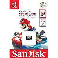 SanDisk 128GB microSDXC UHS-I card for Nintendo Switch -SDSQXAO-128G-GN6ZA