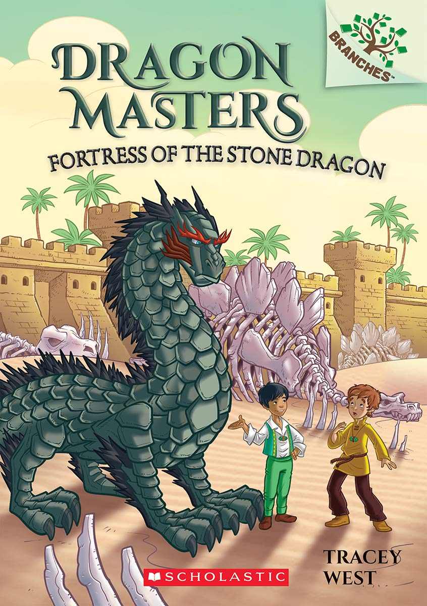 Fortress of the Stone Dragon: A Branches Book (Dragon Masters #17) pdf epub