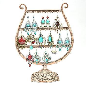 Amazoncom Metal Goblet Design Jewelry Organizer Earring Holder